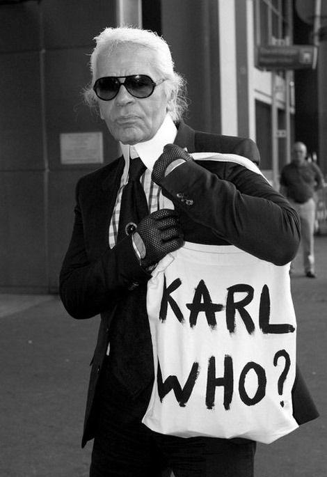 Karl Who?
