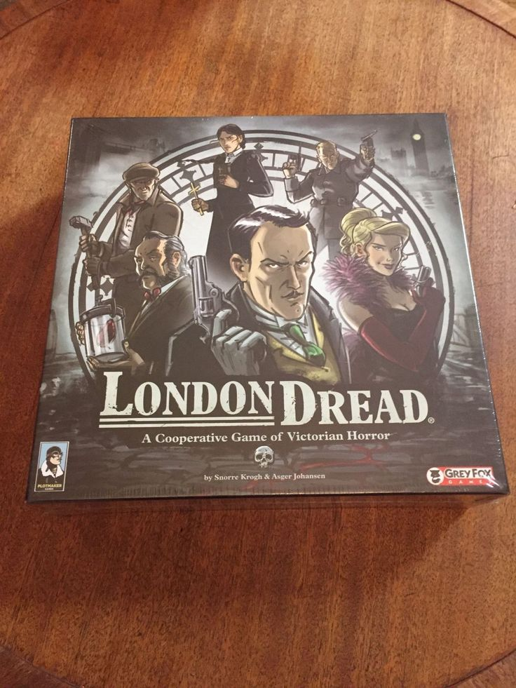 London Dread Grey Fox Games Board Game NEW NIP Horror Asger Johansen