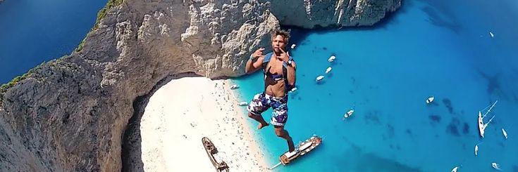 Non solo vela – Base jump a Zante dal Moana60 #barcaavela #vela #sailingboat #sailing #moana60 #imoca #cruise #crociere #baie #sup #greece #Zakynthos #kefallina #Ithaki #travel #vacanze #viaggi #estate #spiagge