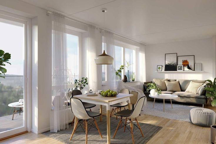 Apartment interior-Sländan in Södertälje, Sweden