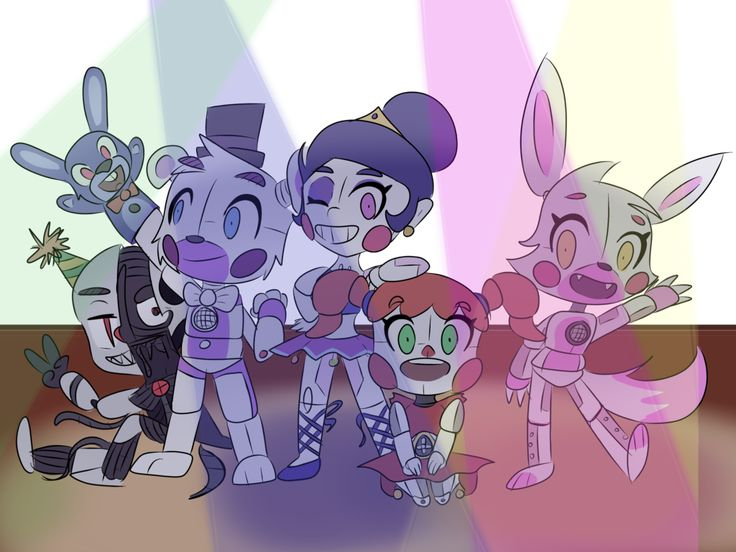 FNaF Sister Location by BubbleGummy4 on DeviantArt