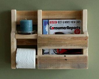 Best 25 rustic magazine racks ideas on pinterest - Fabriquer porte papier toilette ...