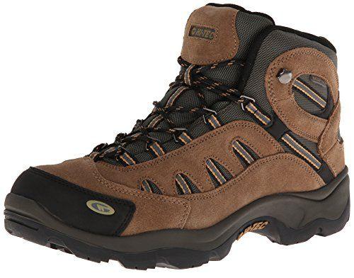 Hi-Tec Men's Bandera Mid Waterproof Hiking Boot, Bone/Brown/Mustard, 9 M US. For product info go to:  https://all4hiking.com/products/hi-tec-mens-bandera-mid-waterproof-hiking-boot-bonebrownmustard-9-m-us/