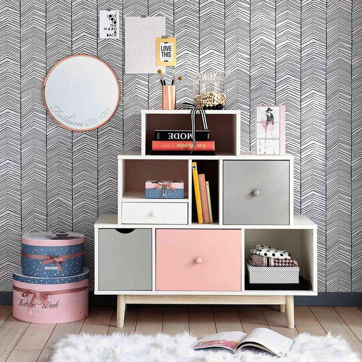 best 25 maison du monde enfant ideas on pinterest maison du commode maison du monde. Black Bedroom Furniture Sets. Home Design Ideas