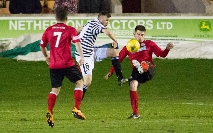 Queen's Park's Adam Cummins in action during the Ladbrokes League One game between Brechin City and Queen's Park