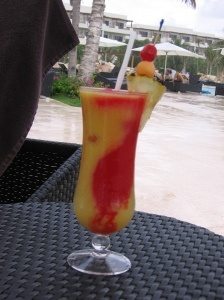 By far the best drink we had at Secrets Maroma Beach - recipe for a Mango Tango!