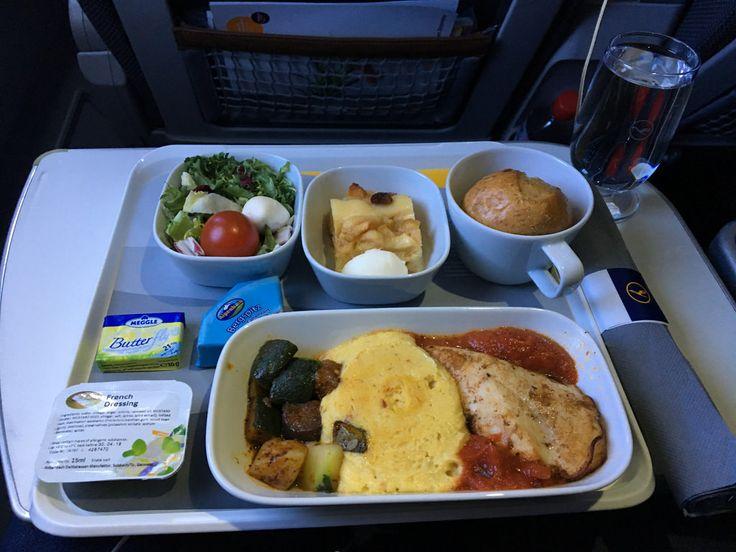 https://flic.kr/p/21CPH1C   Lufthansa Airbus A330-300 D-AIKM FRA - RUH Main meal   Lufthansa Airbus A330-300 D-AIKM FRA - RUH Main meal - Premium Economy