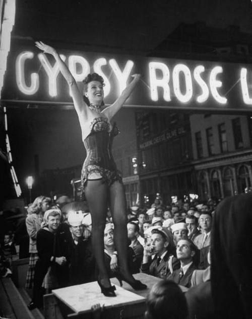 Gypsy Rose Lee, Memphis 1954