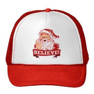 Believe In Santa Claus Trucker Hats