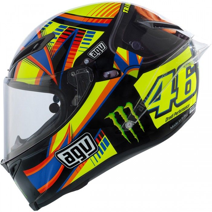AGV Corsa Valentino Rossi Winter Test Limited Edition Helmet available at Motochanic.com