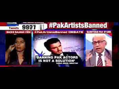 indian actress told arnab goswami to shut up and left his show