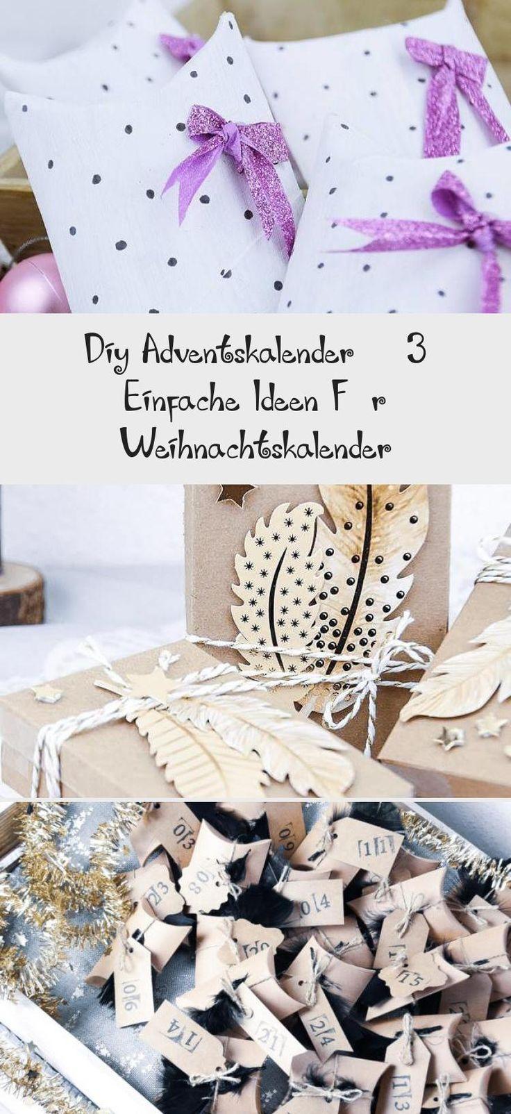 Diy Adventskalender 3 Einfache Ideen Für