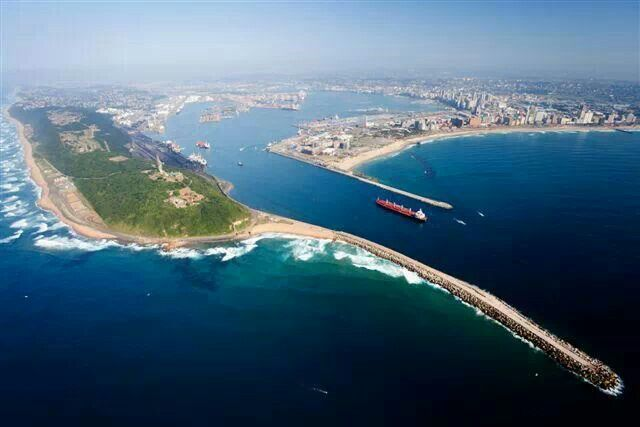 Durban Harbour South Africa