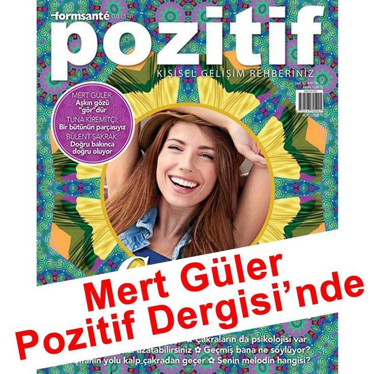 Pozitif Dergisi okuyucularıyla buluşuyorum bu ay 😍🙏🦋 Aşkın Gözü Gör'dür dedim. Dergiyi alanların yorumlarını bekliyorum 💚🤗