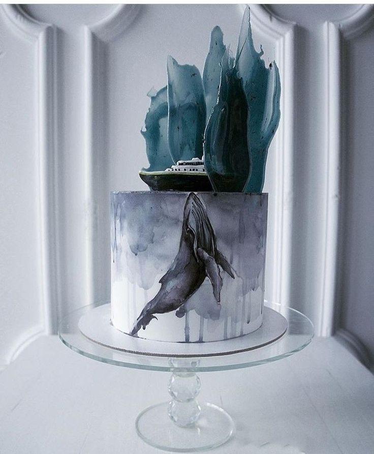 Hochzeitstorte in blau   – Winterhochzeit – Brautaccessoires, Styling Ideen und Deko Inspiraiton für Deine Hochzeit im Winter