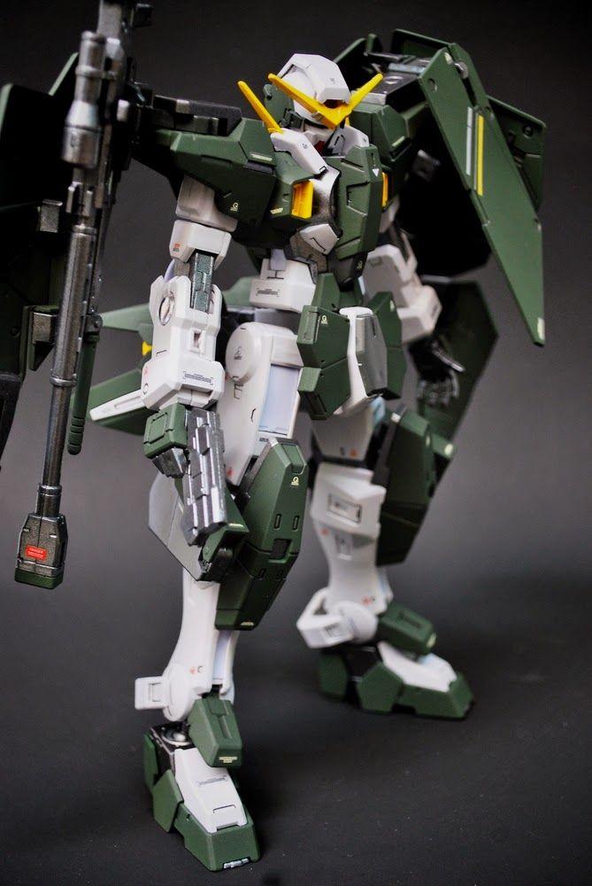 "Custom Build: 1/100 Gundam Dynames ""Detailed"" - Gundam Kits Collection News and Reviews"