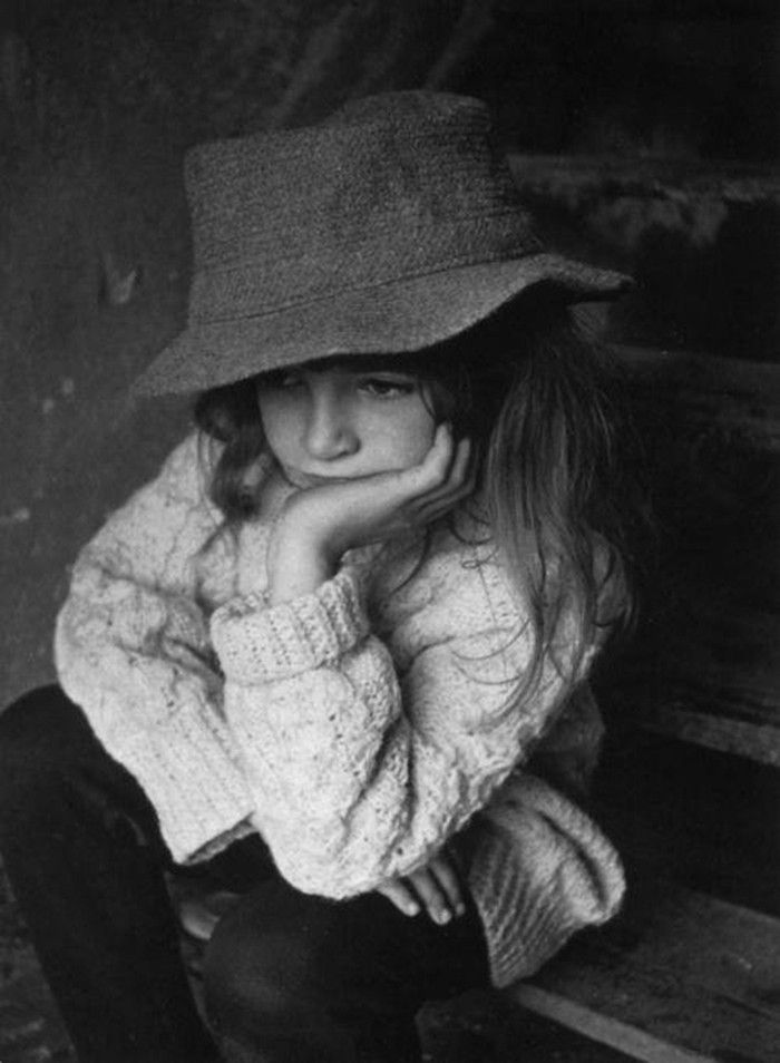 8-year-old Kate Bush , photographs taken by her brother John Carder Bush.