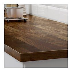 IKEA - KARLBY, Countertop for kitchen island, walnut, , 25-year Limited Warranty. Read about the terms in the Limited Warranty brochure.Countertop with a top layer of solid wood, a hardwearing natural material that can be sanded and surface treated when required.KARLBY countertop can be sanded and has the same look and feel as solid wood, but only needs to be treated with oil every now and then.The depth of the countertop makes it perfect for a kitchen island.You make a good environmental…