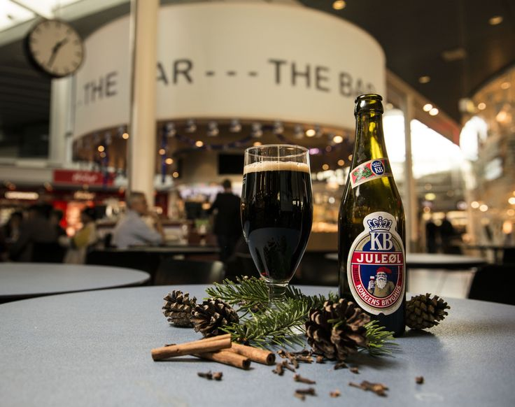 Hmm, an odd choice at The Bar, Santa. This special Danish alcohol-free Christmas brew isn't even a part of the selection at The Bar. But it's okay - drunk sleigh flying is a really bad idea...  #CPHchristmas13
