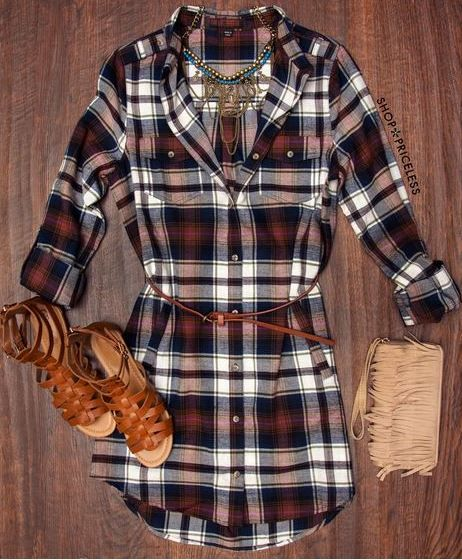 - Details - Size Guide - Model Stats - Contact Okay girls, plaid can be more…