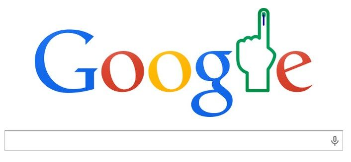 Google Doodle's Salute to the World's Largest Democracy : India's #Election Results 2014