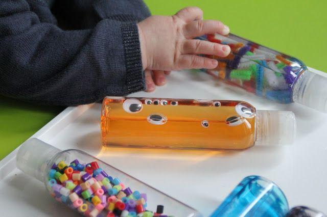 Nounou mais pas que...: Nos bouteilles sensorielles