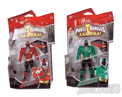 Power Rangers Samurai Figures Asst -