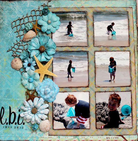 Layout: L.B.I. - small starfish!