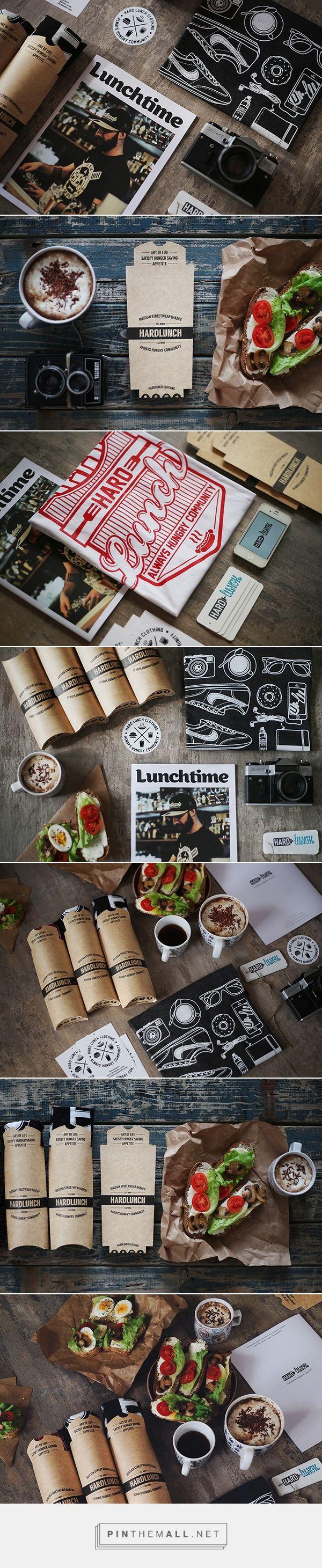 Hard Lunch T-Shirt Packaging