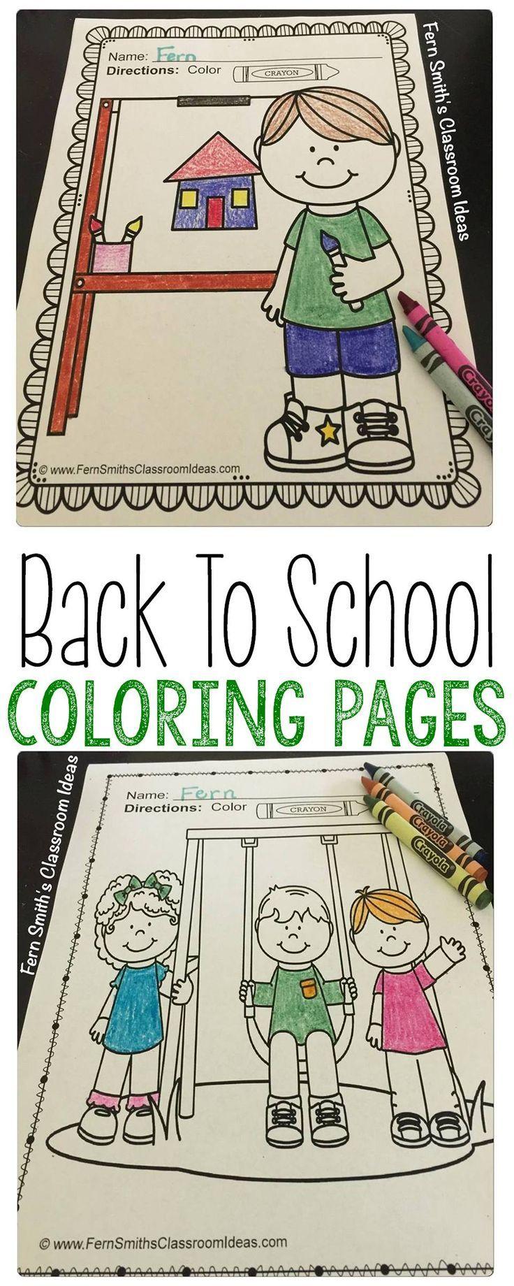 Ba ba back to school coloring sheets printable - Back To School Coloring Pages
