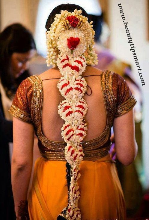 77 Best Images About INDIAN BRIDAL HAIRSTYLE On Pinterest