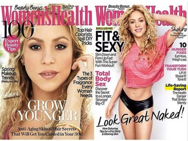 Shakira luce toda su sensualidad en la revista Women's Health (VIDEO)