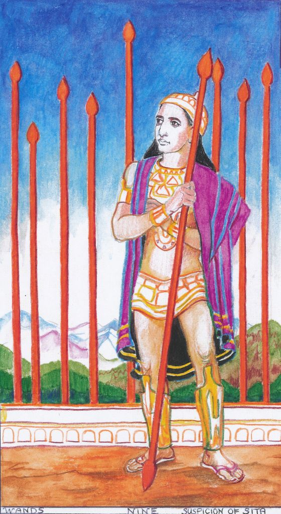 12 Best Tarot Nines: Wands / Rods / Fire Images On