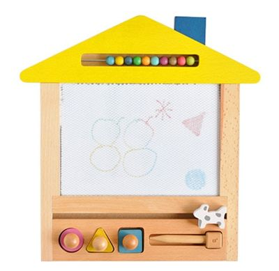 Wooden magnetic board
