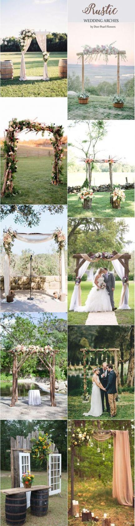 Wedding Arch Rustic Diy Beautiful 40 New Ideas
