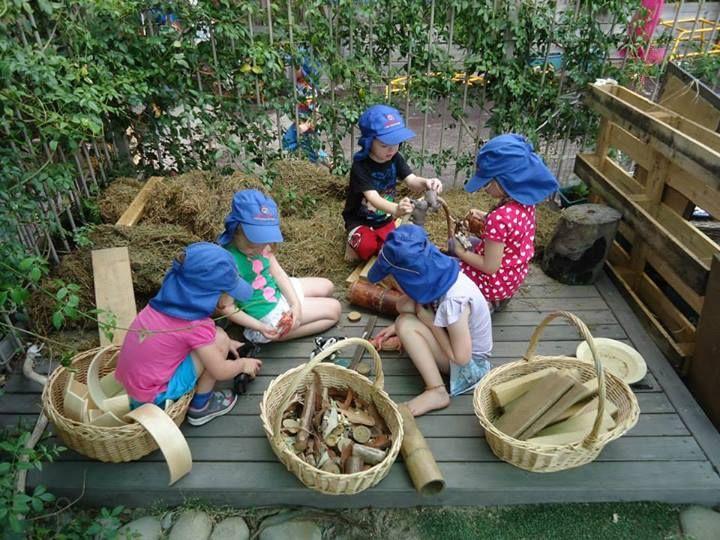 "Mini farm yard at Elder Street Early Childhood Centre ("",)"