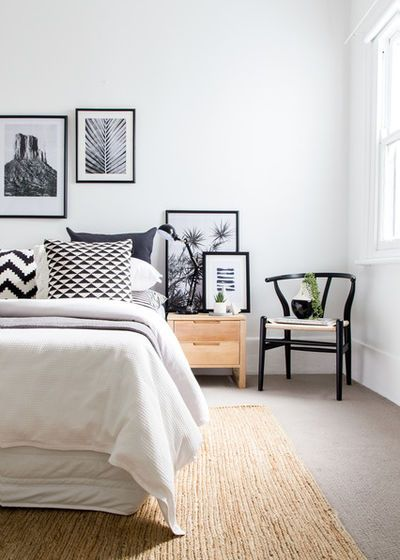 Scandinavian Bedroom by Advantage Styling