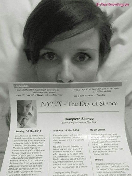 The Day of Silence in Bali- Nyepi. A great experience to be in Bali for Nyepi and the lead up to it