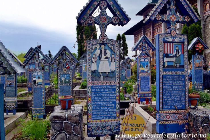 Cimitirul Vesel din Săpânța, în topul celor mai frumoase cimitire din lume! – Povesti de calatorie