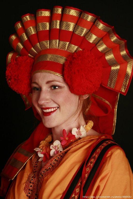 Русские народные женские головные уборы с фото