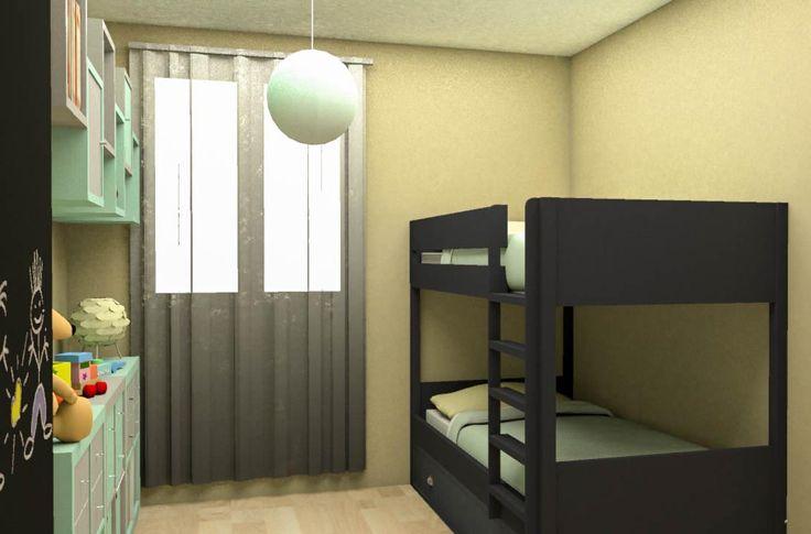 17 meilleures images propos de il tait une chambre d 39 enfants sur pin - Partager une chambre en deux ...