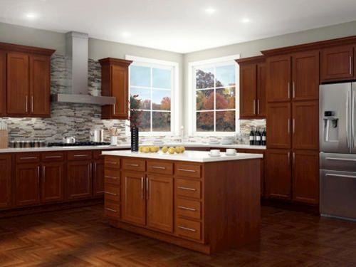 Kitchen Kompact Glenwood 15B Beech Base Cabinet at Menards