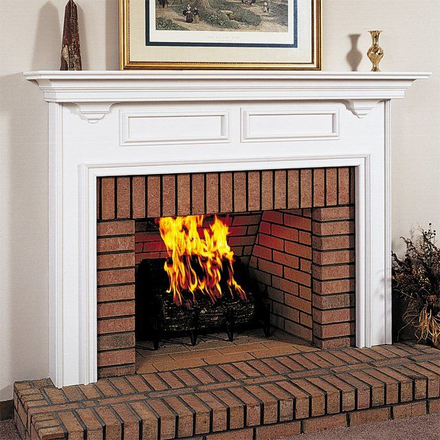 Attraktiv Wood Mantels For Fireplaces | Williamson Custom Wood Fireplace Mantel  Surround