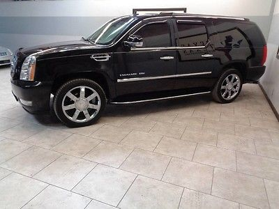 cool 2008 Cadillac Escalade GPS Navi Camera TV DVD Sunroof 22 Chrome Wheels 1 Texas Owner - For Sale