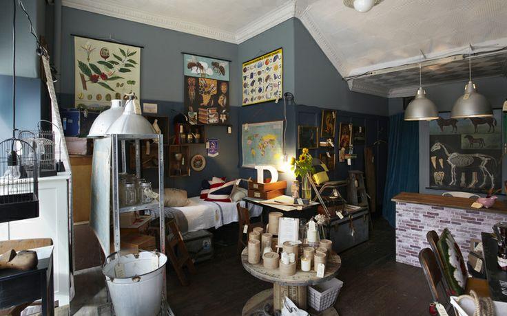 Stylist Tim Neve's Pop-Up Store of Vintage Wares, Photo Johan Palsson