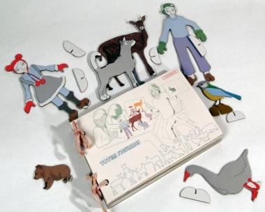 """Totem Figurines"" Spielfiguren aus Pappe"