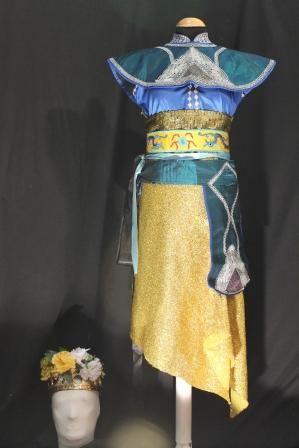 Traje Tailandés mujer #Vestuario