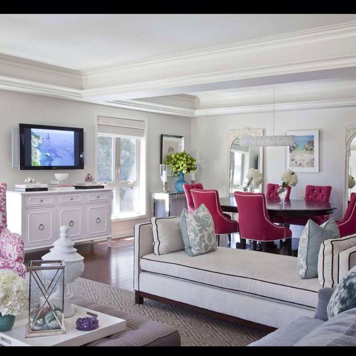 "katiahomedeco: "" Pembe  gönlüm sende  #katiahomedeco #khlivingroom #khsalon #livingroom #salon #sandalye #chair #pink #lovepink #losangeles #santamonica #newyork #bodrum #alacati #istanbul Stay..."