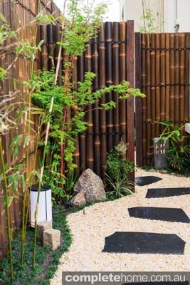 this authentic japanese garden design from kihara landscapes is an oasis of calm and tranquility among the bustling suburb of brighton melbourne