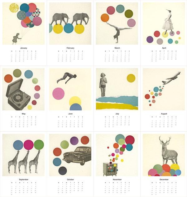 Mini Calendar 2013.
